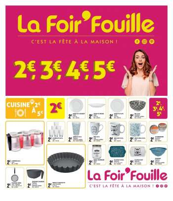 Catalogue La Foir'Fouille - 02.02.2021 - 22.02.2021.
